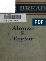 War Bread - Alonzo E Taylor