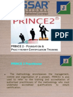 Prince 2 practitioner and prince 2 Foundation Ppt