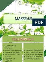 metode MASERASI