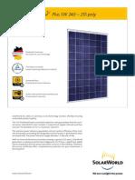 SolarWorld 240-255 En