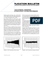 Analog-To-digital Converter Grounding Practices Affect System Performance