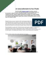Un Apartament Nonconformist in Sao Paulo
