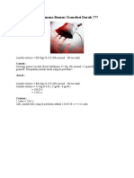 Bagaimana Rumus Transfusi Darah