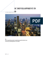 Economic Development in Thailand in Detailed Point of view.