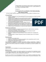 Postdoc Coordinator of the Interdisciplinary Doktoratskolleg Climate Change