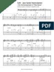 Blue Bossa Transcription Achim Kohl Jazz Guitar
