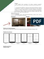 Divisor de Ambiente Estilo Japones 1,98 x 3,05