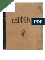 Cahier de devoirs mensuels  d'un écolier de l'école de Saucède - Année 1941