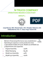 Merton Truck Company Case