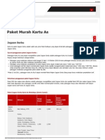 Paket Murah Kartu as - Telkomsel