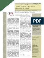 Caucasus Newsletter