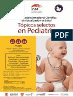 Triptico Jornada de Pediatría USAT (Mayo 2014)
