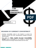 Ppt on Currency Convertibility