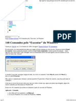"""140 Comandos Pelo """"Executar"""" Do Windows"""