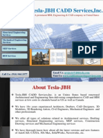 Tesla-JBH CADD Services,Inc. provides comprehensive CAD services to United States & Canada