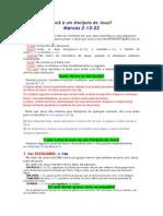 0037 - Você é Um Discípulo de Jesus