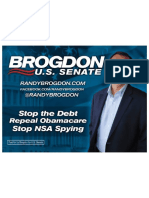 Brogdon - Signs and Banners and Memes