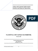 ICE National Detainee Handbook 2007