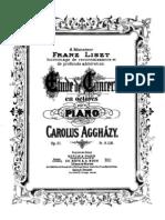 Agghazym, Karolyi - Etude de Concert en Octaves, Op. 21