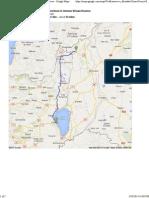 Dona Gracia, Tverya, Israel to Hermon Stream Reserve - Google Maps