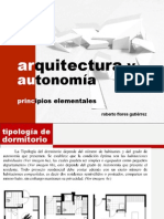 Arquitectura y Autonomía