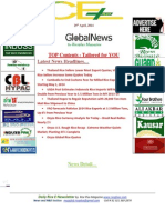 29th April,2014 Daily ORYZA E-Newsletter by Riceplus Magazine