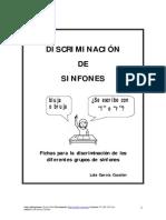 Libro de Sinfones Fichas Discriminacion