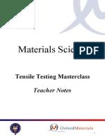 Tensile Testing Resource