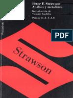 Strawson, Peter F. (1992). Analisis y Metafisica. Una Introducción a La Filosofía.
