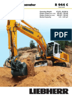 Liebherr R944C brochure