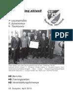 Vereinszeitung Nr. 28 (April 2014)