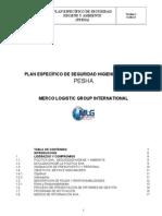 Plan Especifico de Seguridad Higiene y Ambiente ( Pessha)