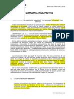 La Comunicación Eficaz (Unidad VI)