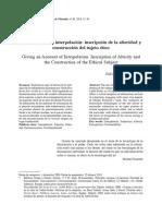 Pérez Navarro - 2010 - Dar Cuenta de La Interpelación Inscripción de La Alteridad y Construcción Del Sujeto Ético