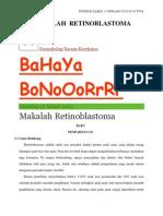MAKALAH  RETINOBLASTOMA