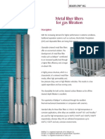 MOTTCORP _ Application Briefs _ Fiber Filters for Gas Filtration