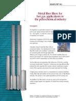 MOTTCORP _ Application Briefs _ Fiber Filters Hot Gas