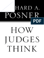 How Judges Think (Posner)