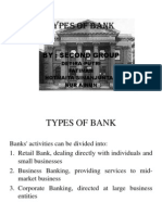 Types of Bank