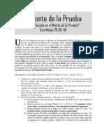 El Monte de La Prueba