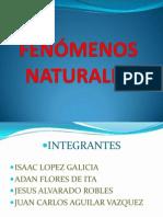 2.7 Fenomenos Naturales