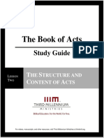 The Book of Acts - Lesson 2 - Study Guide