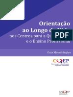Guia de Orientação ao longo da vida nos centros para a qualificação e o ensino profissional
