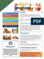 Beverage Flavour Segments
