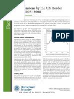 DHS Fact Sheet - Border Patrol Apprehensions 2005-2008 (June 2009)
