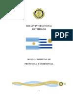 Manual Distrital de Protocolo y Ceremonial
