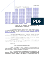 Provimento n 161CGJ2006 - Codigo de Normas - Foro Judicial