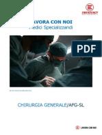 LAVORA CON NOI Medici Specializzandi - Chirurgia generale (AFG-SL)