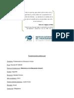 PT Didáctica en La Ed Inicial- 2014