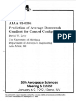 AIAA-Prediction of Average Downwash